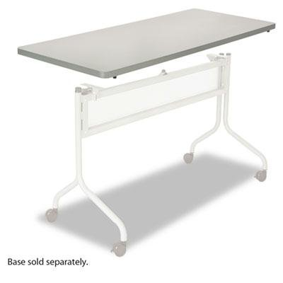 Safco - Impromptu Series Mobile Training Table Top Rectangular 48W X 24D Gray ''Product Category: Office Furniture/Meeting/Training Room Tables'' by Original Equipment Manufacture