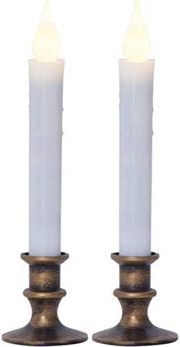 Candele da tavola a LED KAMACA in Vera Cera