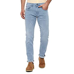Louis Philippe Men's Relaxed Fit Jeans 13 31%2B8gphd09L. SS300