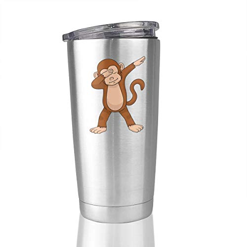 Dabbing Monkey 20 Oz Stainless Steel Vacuum Insulated Tumbler Coffee Mugs Unique Gifts