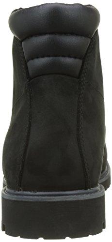 Timberland Uomo 6 In Basic Stivali Impermeabili Alburn, Marrone Nero (nero Nabuk)