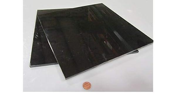 """Delrin Acetal Plastic Sheet 1 1//4/"""" Black Color 1.25/"""" x 6/"""" x 8/"""""""