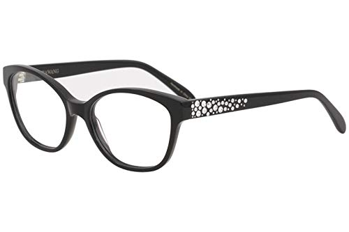 VERA WANG Eyeglasses TAAFFE Black 52MM