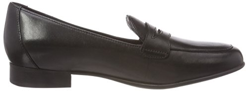 black Mocassini Clarks Blush Go Nero Leather Donna Un qOvaHw7