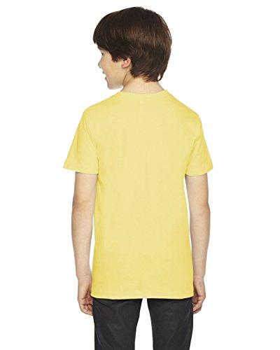 American Apparel Boys Fine Jersey Short-Sleeve T-Shirt (2201) -LEMON -10 by American Apparel (Image #1)