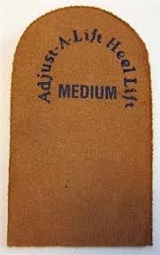"""Rolyn Prest Adjust-A-Lift Heel Lift. Size: Medium - 2½"""" wide"""