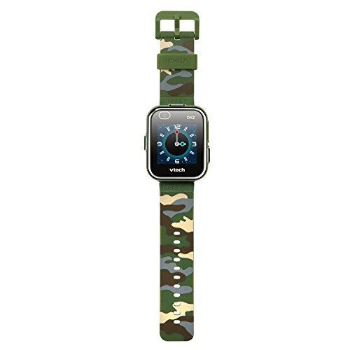 VTech KidiZoom Smartwatch DX2, Camouflage (Amazon Exclusive)