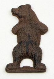 (Iwgac Home Indoor Decorative Cast Iron Bear Bottle Opener )