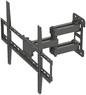 Monoprice Titan Series Full-Motion Articulating TV Wall Mount Bracket – for TVs Up to 70in Max Weight 99lbs VESA Patterns Up to 600×400 Rotating