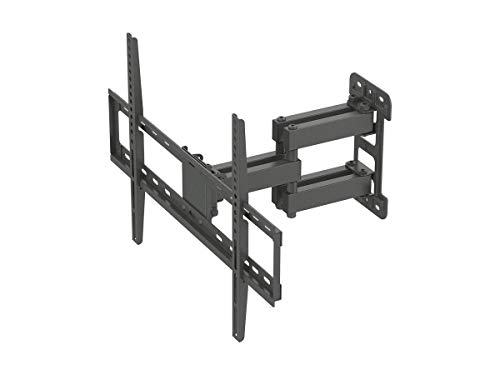 Monoprice Titan Series Full-Motion Articulating TV Wall Mount Bracket - for TVs Up to 70in Max Weight 99lbs VESA Patterns Up to 600x400 Rotating ()
