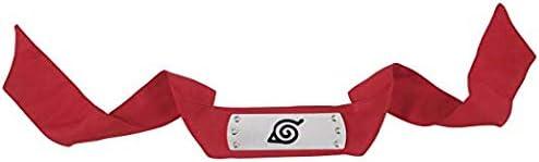3Pack Naruto Cosplay Headband Ninja Headband Red