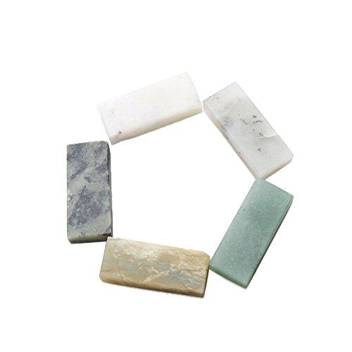 Atoplee Grit 10000# Knife Razor Sharpener Fine Stone Oil Stone Whetstone Oilstone (Green Jade Like Stone)