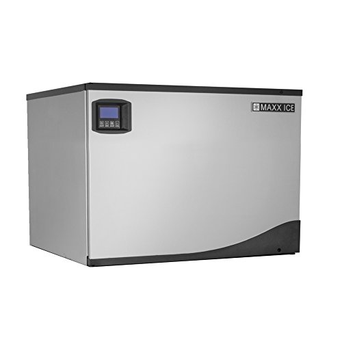 Maxx Ice MIM500N 30'' Modular Clear Ice Maker Cuber - 500lb Per Day - NEW GENERATION by Maxx Ice