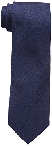 Tommy Hilfiger Paisley Tie (Tommy Hilfiger Men's Grenadine 3 Tie, Navy, One Size)