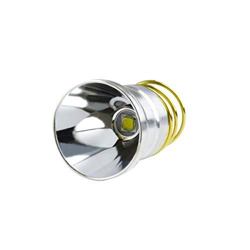 Module Replacement Led (DEONGO Flashlight Bulb 1200 Lumens Newest XM-L2 Lamp Beads LED Bulb Single Mode Torch Bulb Replacement Flashlight Parts Drop-in P60 Design Module for Surefire Hugsby C2 G2 Z2 6P 9P G3 S3 D2 etc)