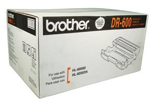 Brother Drum, DR600, Black, 30,000 pg yield [Non - Retail Packaged]