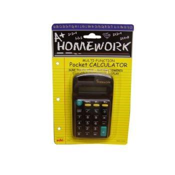 Pocket Calculator- Multi Function - 8 Digit Display [48 Pieces] *** Product Description: Pocket Calculator - Battery & Solar Powered - Multi Functional, 8 Digit Display. Very Good Quality Cheap Wholesale Bulk Discount Calculators. Calculators Are ***