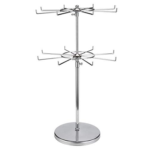 (Polmart Two Tier Counter Top Spinner Display Stand)