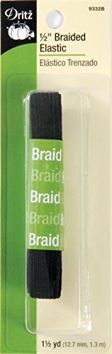 (Dritz Braided Elastic 1/2