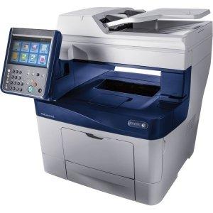 Xerox WorkCentre 3655/S Laser Multifunction Printer - Monochrome - Plain Paper Print - Desktop - Copier/Printer/Scanner - 47 ppm Mono Print - 1200 x 1200 dpi Print - Touchscreen - 600 dpi Optical Scan - Automatic Duplex Print - 700 sheets Input - Gigabit