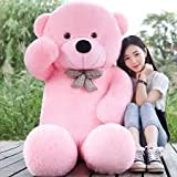 GURUDEV 4 Feet Big Teddy Bear Pink 121 CM