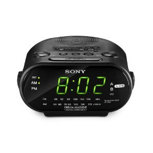 Sony ICF-C318 Travel Clock Radio with Dual Alarm, 220 to 240-volt