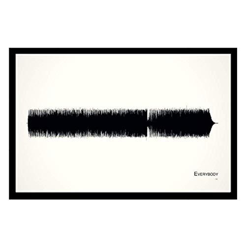 Everybody - 11x17 Framed Soundwave print