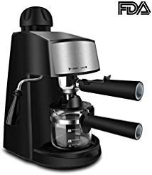 Espresso Machine 3.5 Bar 4 Cup E...