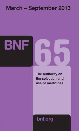 British National Formulary (BNF) 65
