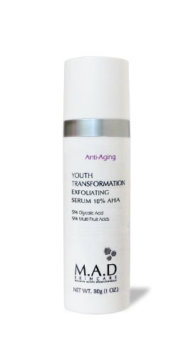M.A.D Skincare Anti-Aging Youth Transformation Exfoliating Serum 10% AHA