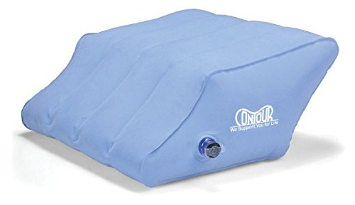 Inflatable Leg Wedge Travel Pillow by Contour Products