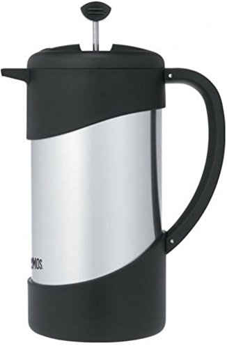 Thermos 34-Ounce Vacuum Insulated Stainless-Steel Gourmet Coffee Press (Discontinued by Manufacturer) by Thermos