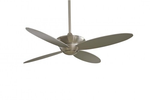 (Minka Aire F514-BN, Zen Brushed Nickel 52-inch Ceiling Fan with Light & Remote Control)
