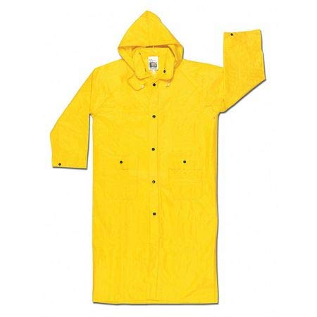 Wizard .28Mm PVC Nylon PVC Fr Coat, 3XL