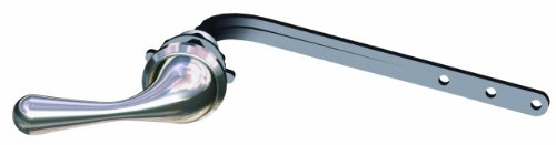 Danze DA602016BN Traditional Front Mount Toilet Tank Lever Handle, Brushed (Danze Toilet Tank Lever)