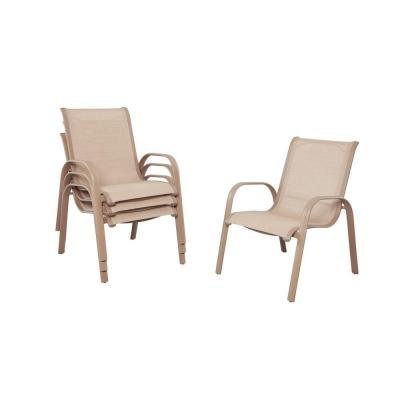Westin Commercial Sling Patio Dining Chairs (4-Pack) (Patio Sling Chairs Sale Back)