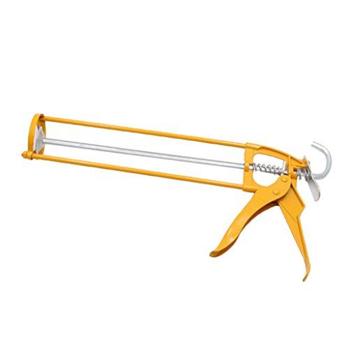 Jili Online Industrial Grade Metal Frame Adhesive Applicator Mastic Skeleton Caulk Gun
