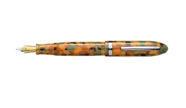 Terrazzo Pumpkin Medium Point Fountain Pen Laban Mento LRN-F988TK NEW