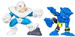 (Marvel Superhero Squad Series 12 Mini 3 Inch Figure 2-Pack Beast and Avalanche)