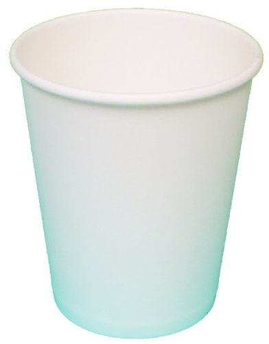 - Gogo by crystalware PHCS102050WT Paper Hot Cups, 10 oz. Squat Capacity, White, Packed 20 Bags of 50 Cups (Pack of 1000)