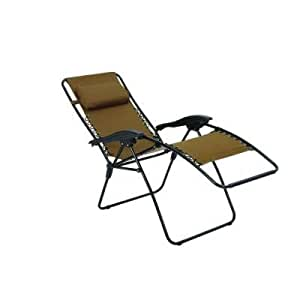 Zero gravity patio chaise lounger patio for Anti gravity suspension chaise lounger
