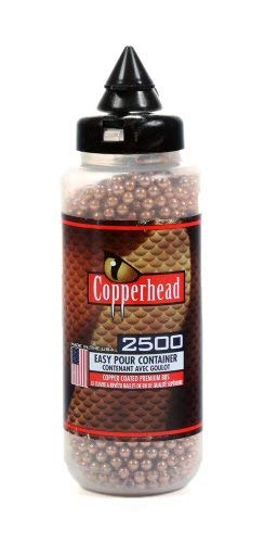Copperhead .177 Cal, 5.1 Grains, BBs, 2500ct