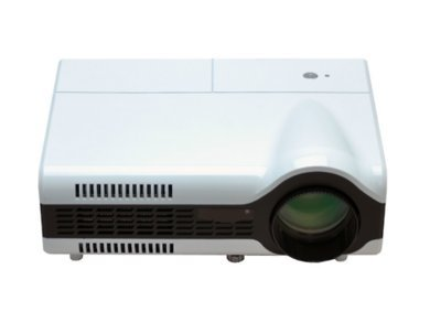GOWE LED Projector 800x600 1500 Lumens 3.5 inch LCD panel