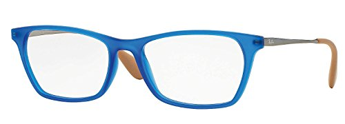 Eyeglasses Ray-Ban Vista RX 7053F 5524 RUBBER BLUE