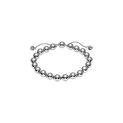 b3a7083e3 Gucci bracelet BOULE BRIT silver Ref. YBA373678001016: Amazon.co.uk:  Jewellery