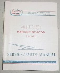 r 402a cessna 400 series marker beacon service and parts manual rh amazon com Cessna Aircraft Parts Catalog Cessna Part Numbers