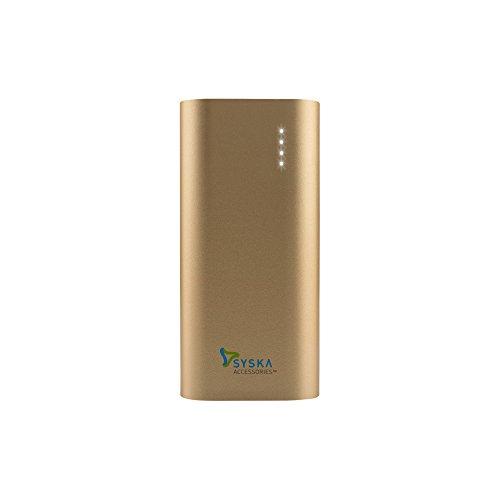 Syska Power Bar 67 6700mAH Power Bank (Gold)