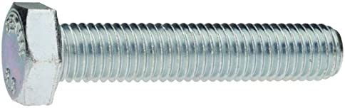 Pack of 100 Aparoli SJA 179325/ QB DIN 933/ Hexagonal Screws with Thread up to Head Galvanised 8.8/ 33x90/ Pack Quality Basic