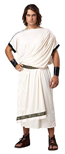 Deluxe Classic Toga Costume - Plus Size - Chest Size 48-52 ()