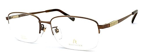 ( ローデンストック ) 眼鏡 RODENSTOCK R0141 C [メンズ 男性用 眼鏡 Lサイズ] 日本製 チタン バネ蝶番 メガネ ダテ眼鏡 クリアサングラス (ダミーレンズ付) B00WHJ8HKM